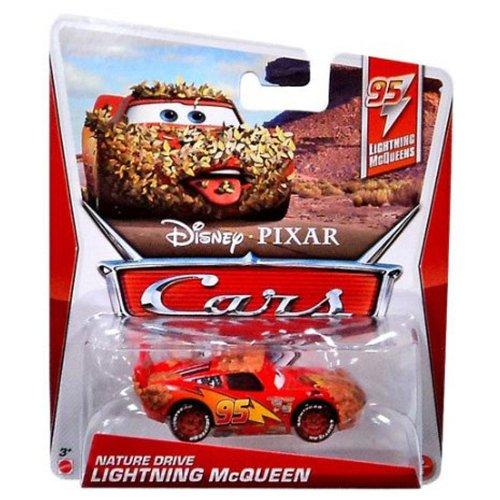 Disney Pixar Cars NATURE DRIVE LIGHTNING MCQUEEN (Lightning McQueen Series, #5 of 5) - Voiture Miniature Echelle 1:55