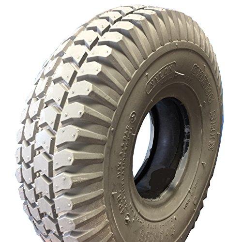 Cheng Shin Neumático para silla de ruedas 3.00-4 (también 260 x 85),...