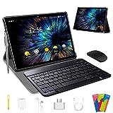 Tablet 10 Pollici , Android 9.0 Certificato da Google GMS Tablets 4G LTE,4 GB di RAM e 64 GB, Doppia...