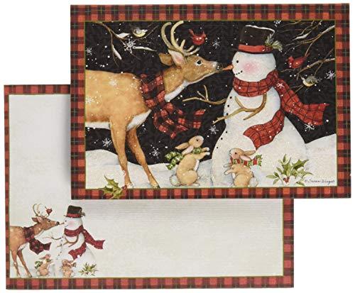 Lang Reindeer Kisses Petite Christmas Cards (2004534)