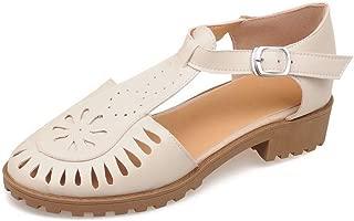 BalaMasa Womens ASL06767 Pu Platform Heels