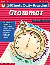 5-minute Daily Practice: Grammar, Grades 4-8