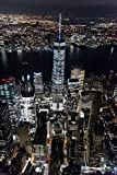 Aerial View Freedom Tower New York City NYC Photo Photograph Cool Wall Decor Art Print Poster 24x36