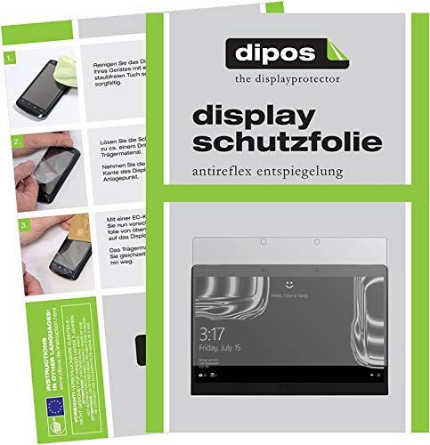 dipos I 2X Schutzfolie matt kompatibel mit Porsche Design Book One 13,3 Zoll Folie Bildschirmschutzfolie