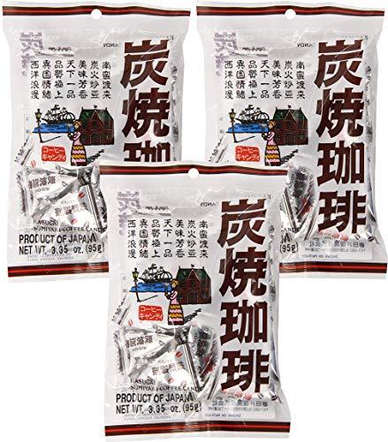 Kasugai Sumiyaki Japanese Roasted Coffee Candy, 3.35 oz