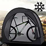 Bike Tent Cover Bike Storage Sheds - Outdoor Weather Resistant Bicycle Shelter - Portable Waterproof Sheds for Bikes with A Snowflake Tool