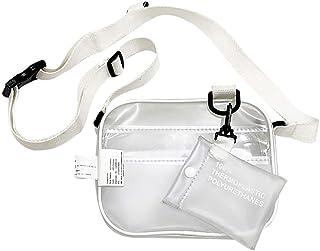 Fanspack Womens Crossbody Bag Transparent Shoulder Bag Fashion Satchel Bag for Girls
