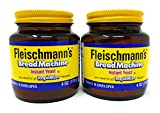 Fleischmann's Bread Machine Yeast, Also Ideal for All Rapid Rise Recipes, Equals 16 Envelopes, 4 oz Jar (Pack of 2)