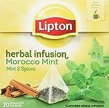Lipton - Té Morocco (Menta Y Canela) - [Pack de...