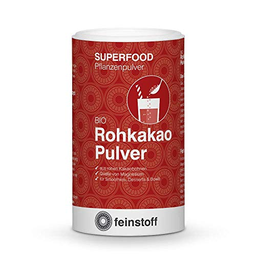 feinstoff Rohkakao Pulver bio, 140 g
