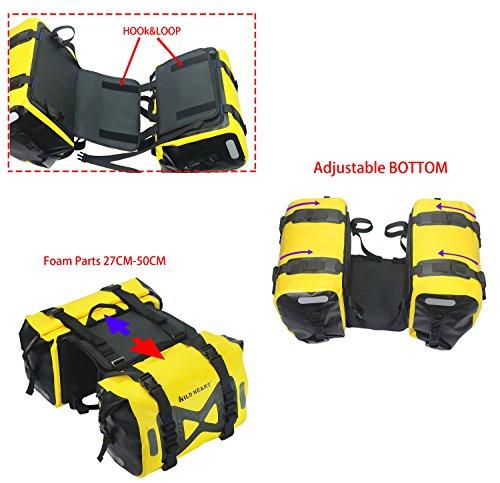 ワイルドハート『防水オートバイサイドバッグ』