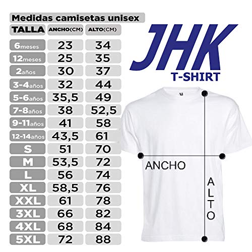 Camisetas EGB Camiseta V Los Visitantes Adulto/niño ochenteras 80´s Retro (3-4 años, Rojo)