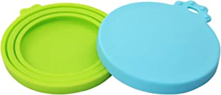 EIOKIT-Can Lids/Universal Silicone Can Lids for Pet Food Cans(3 oz,5.5 oz,12 oz,13.2oz) /100% FDA Certified Food Grade Silicone & BPA Free