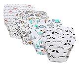 MARRYME Pack de 4 Unidades Pantalones de Entrenamiento para bebés Bragas Pañal Reutilizables de Aprendizaje Calzoncillos de Entrenamiento