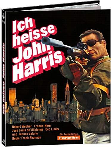 Ich heisse John Harris - Tecnica di un omicidio - Mediabook - Cover C - Limited Edition [Blu-ray]