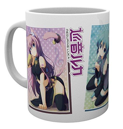 Vocaloid 280ml Tasse: Hatsune Miku & Megurine Luka & Kagamine Rin