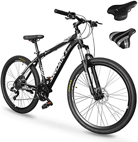 SIRDAR S 900 27 Speed 27 5 inch Mountain Bike Aluminum Alloy and High Carbon Steel with 2 Replaceable product image