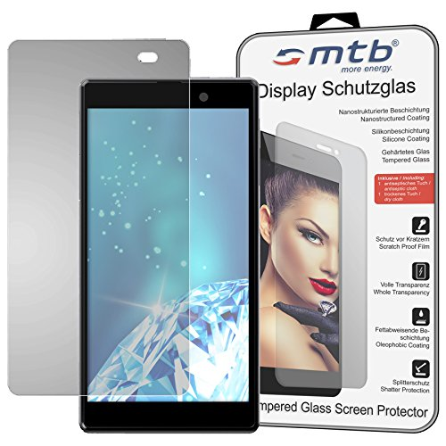 mtb more energy® Protector de Pantalla de Vidrio Templado para Sony Xperia Z1-0,3mm / 9H / 2.5D - Cristal Tempered Glass