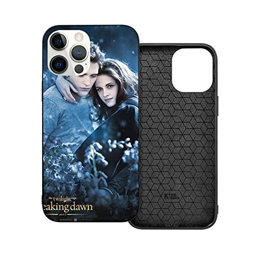 Compatibile con iPhone 12/11 PRO Max 12 Mini SE X/XS Max XR 8 7 6 6s Plus Custodie Twilight Saga Nero Custodie per Telefoni Cover