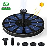 Ankway Solar Fountain Pump for Bird Bath with Battery 2.5W Solar Garden Fountain Floating Solar Powered Water Fountain Pump for Small Pond, Fish Tank, Pool, Aquarium