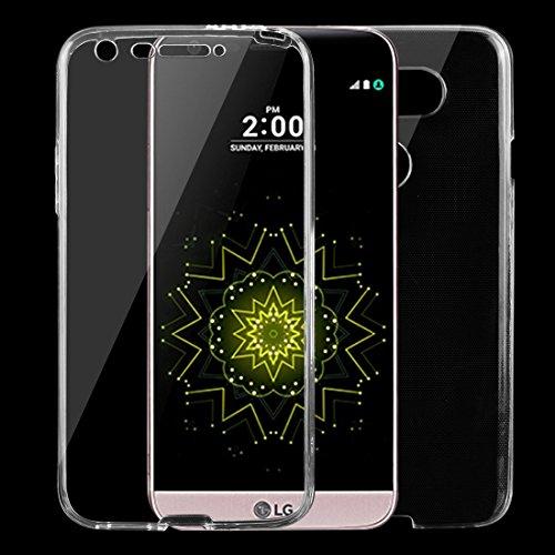 Moonbaby Bueno for LG G5 0.75mm Funda Protectora de TPU Transparente ultradelgada de Doble Cara (Transparente) (Color : Transparent)