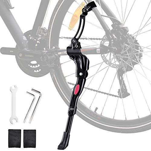Oziral Patas de Cabra para Bicicleta, Soporte Lateral de Bicicleta de aleación de Aluminio Ajustable Soporte Lateral Universal para Bicicletas de montaña Bicicleta MTB de 25-29 Pulgadas