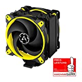 ARCTIC Freezer 34 eSports DUO - Tower CPU Cooler with BioniX P-Series case fan in push-pull, 120 mm PWM fan, for Intel and AMD socket, for CPUs up to 210 Watt TDP - Yellow