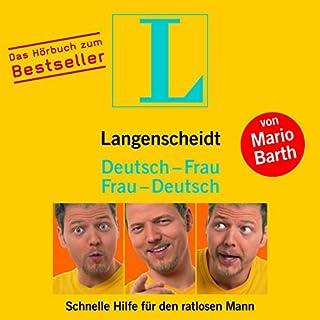 Langenscheidt Deutsch-Frau/Frau-Deutsch - Schnelle Hilfe für den ratlosen Mann Titelbild