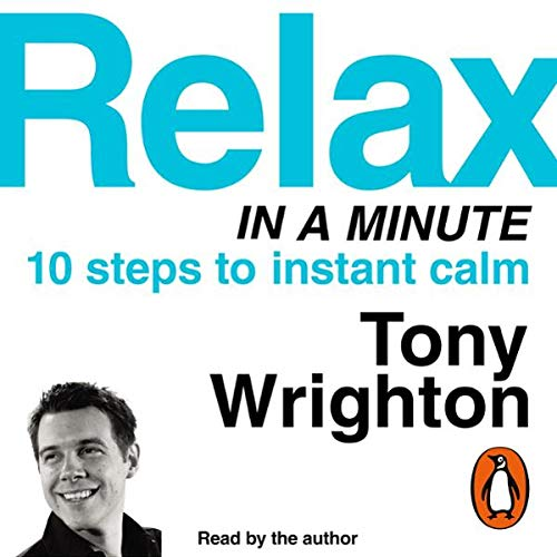 Relax in a Minute audiobook cover art