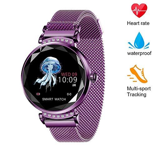 WANZIJING Smart Orologio Touch Screen Bluetooth Intelligente Orologio SmartWatch Telefono Fitness Tracker Giorno di San Valentino per Le Donne Ragazze