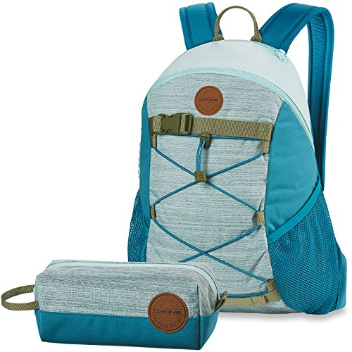 Dakine 2er Set Rucksack Schulrucksack 15l Womens Wonder + Accessory CASE Mäppchen Bay Islands