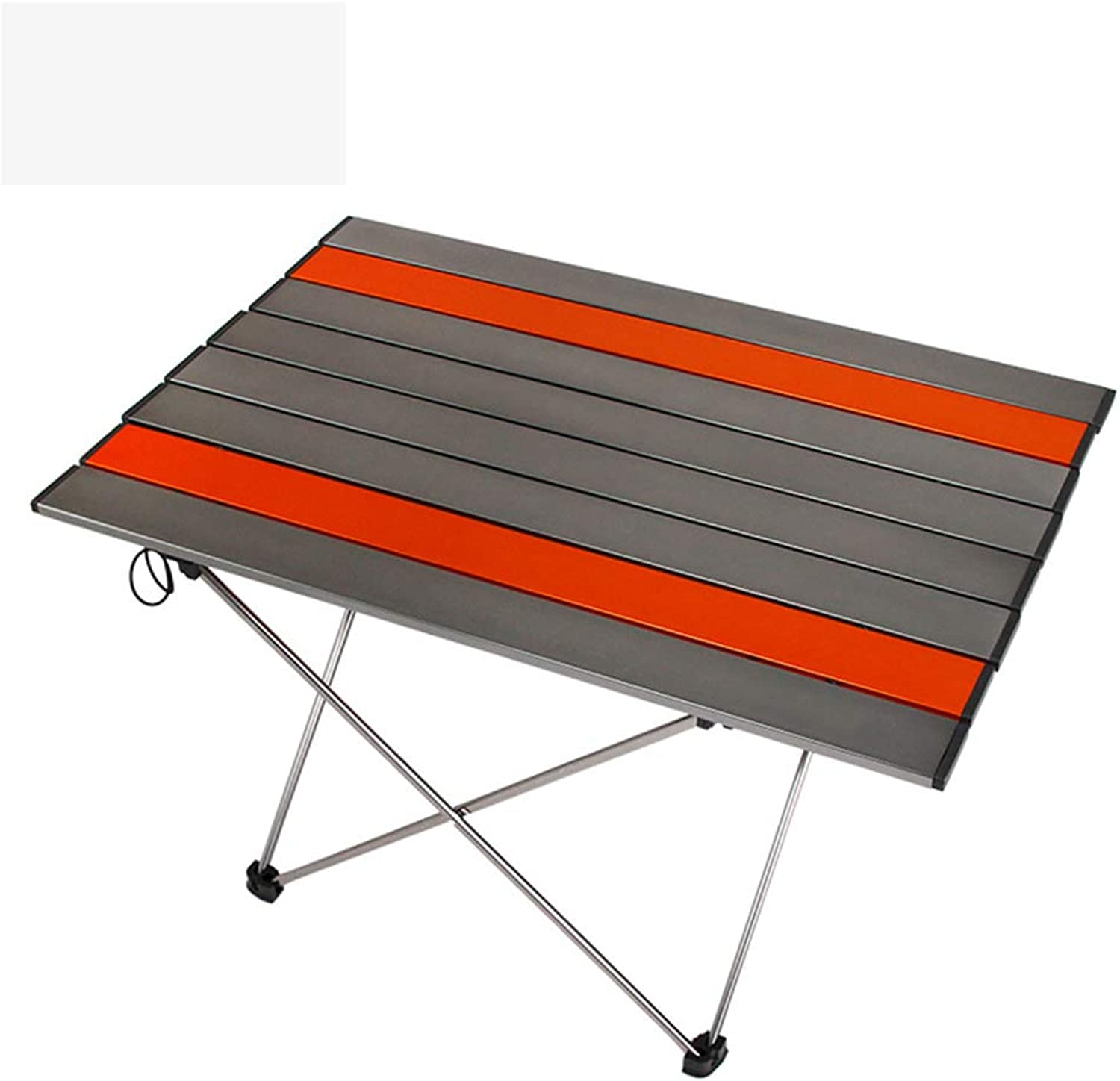Aluminum Folding Table   Hard-Topped Folding Table in a Bag for Picnic, Camp, Beach, Boat, Useful for Dining & Cooking with Burner, Easy to Cleang