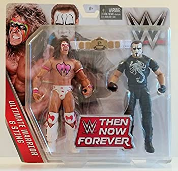 WWE Basic Series 2016 Then Now Forever Ultimate Warrior and Sting Action Figures