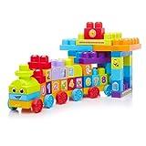 Mega Bloks - 81209 - Jouet De Premier Age - Mega Bloks - First Builders - Le Train...