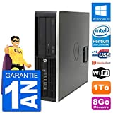 HP PC Compaq Pro 6300 SFF Intel G630 RAM 8Go Disque Dur 1To Windows 10 WiFi (Reconditionné)