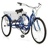 Schwinn Meridian Adult 26' 3-Wheel Bike (Blue)