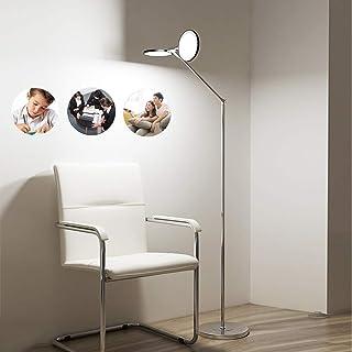 ACHNC 20W Lampadaire LED Dimmable Avec Télécommande,Lampe De Lecture Moderne Double Tête Aluminium Lampe Sur Pied Pour Sal...
