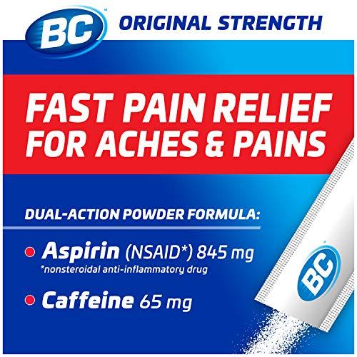 BC Powder Original Strength Pain Reliever, 24 Powder Sticks, 2 Pack