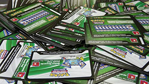 Generisch Pokemon Online Code Card Mega Selection (100 Code Cards!)