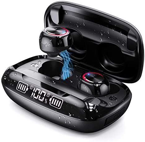 True Wireless Earbuds Bluetooth 5 0 Headphones with Wireless Charging Case CASECUBE Stereo Sound product image