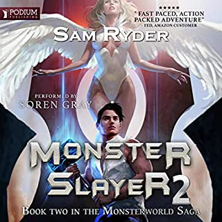 Protector: Monster Slayer audiobook cover art
