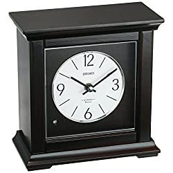 SEIKO Traditional Musical Desk/Table Clock - 7.25 in. Wide
