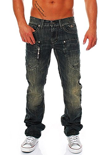 M.O.D Jeans straight algiers blue 38/34