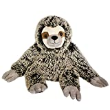"The Petting Zoo - 25"" Soft Frosted Brown Sloth - Stuffed Animal Toy - Great for Baby/Toddlers/Kids - Boys & Girls"