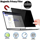 Magnetic Privacy Laptop Screen Filter for MacBook Pro 15 - Anti Glare & Anti Blue Light Privacy Screen Filter with Webcam Cover Compatible MacBook pro 15.4 inch (15.4in)