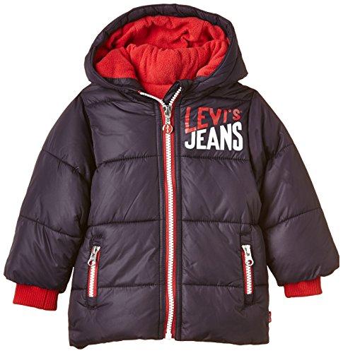 Levi's Kids Baby-Jungen Levi's Coat Mantel, Blau (Dark Navy 49), 74 (Herstellergröße: 12M)