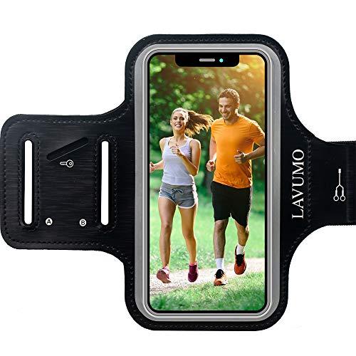 Armtasche für Handy Samsung Note 10 8 9 Plus A70 A71 A11 S20 Ultra Sportarmband für Oneplus 7t G8 Plus Honor 8X 9X Redmi Note 8 Pro Infinix Note 7 Joggen Laufen Handyhalter Arm Handyhalterung