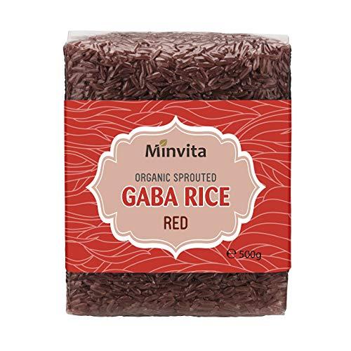 Minvita Organic Gaba Rice, Red ,500 g