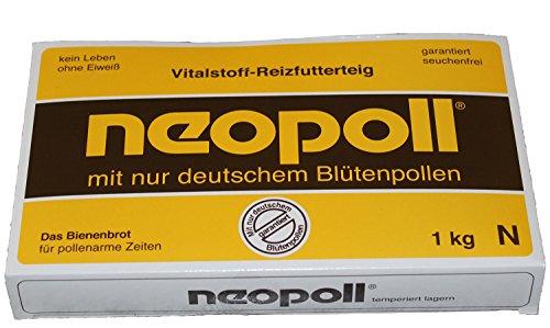 Germerott Bienentechnik Neopoll 1 kg für die Reizfütterung von Bienen mit Deutschen Pollen Preis pro kg 5,25 Euro