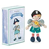 Ragtales- Hada de los Dientes Pirata, muñeca de Trapo (R205)